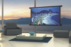 Black Diamond Motorized Screen